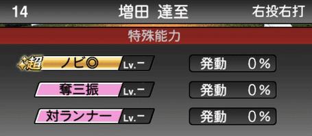 プロスピA増田達至2019年シリーズ1の特殊能力評価