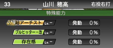プロスピA山川穂高シリーズ2の特殊能力評価