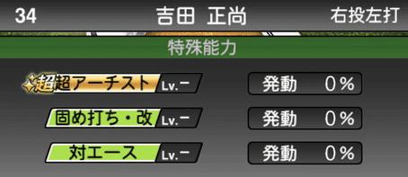 プロスピA吉田正尚シリーズ2の特殊能力評価