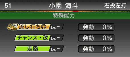 プロスピA小園海斗シリーズ2の特殊能力評価