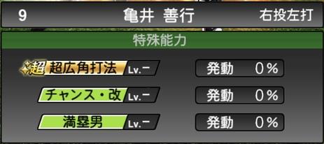 A 亀井 プロスピ