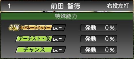 プロスピA前田智徳2020シリーズ2の特殊能力