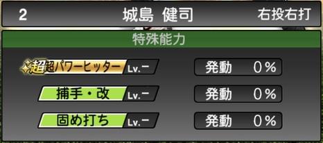 プロスピA城島健司2020シリーズ2の特殊能力