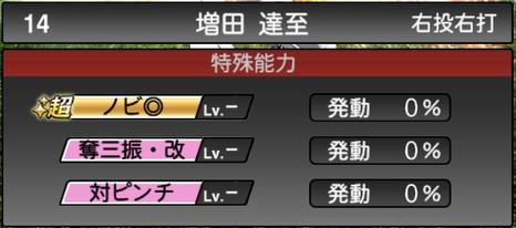 プロスピA増田達至2021シリーズ2の特殊能力